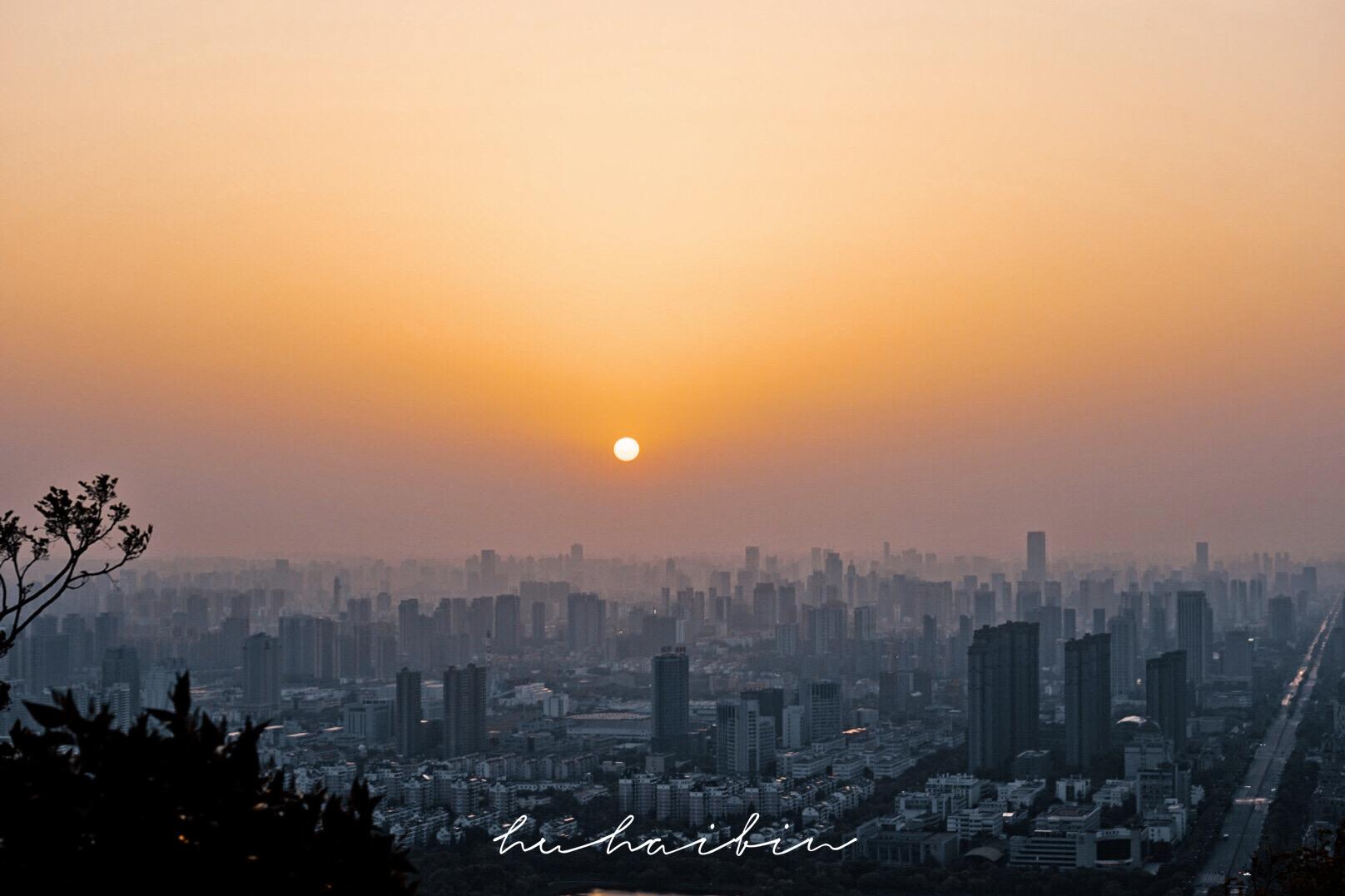 合肥观赏日出最佳地点推荐:大蜀山